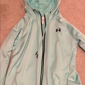 light blue/ mint green women's jacket